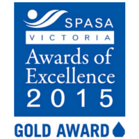 2015 Gold Logo SPASA Award Website
